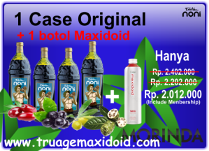 Promo June 2014 1 Case Original + Maxidoid