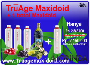 Promo June 2014 Truage + Maxidoid